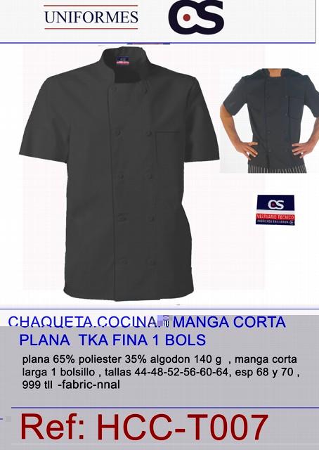 CHAQUETA COCI M/C PPL NGR TLL