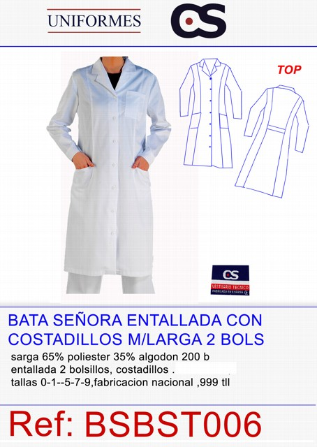 BATA SEÑORA ENTALLADA M/L