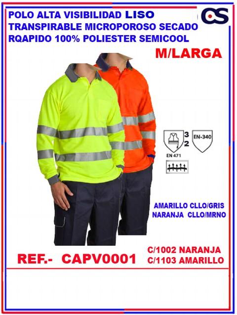 POLO BASICO ALTA VISIB. M/L