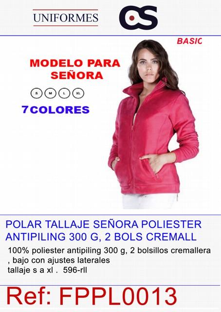 POLAR ABIERTO SRA. 300grs.P596