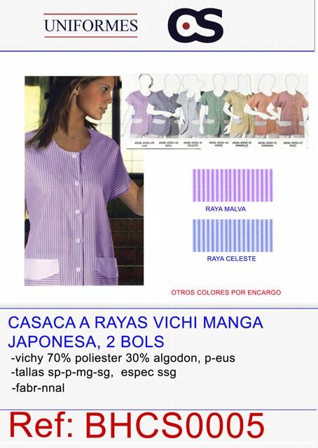 BLUSON C/REDONDO M/JAPONESA
