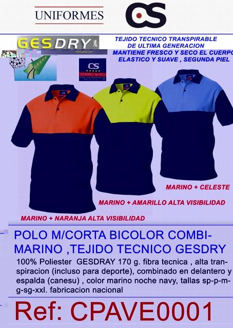 C2077 POLO M/C BICOLOR AV