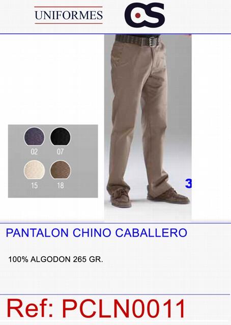 PANT. CHINO CRO 100% ALG. P207