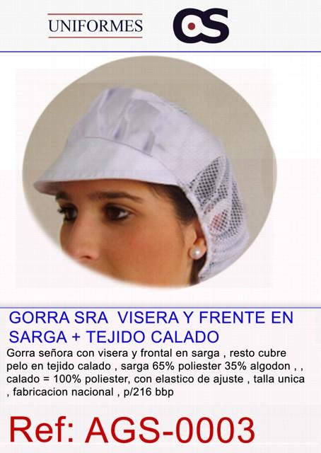 GORRA SRA.ELAST VIS/RIGDA TK G