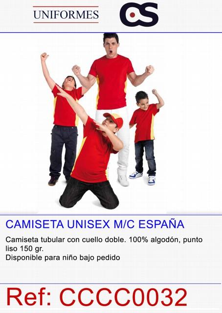 CAMISETA M/C ESPAÑA P596
