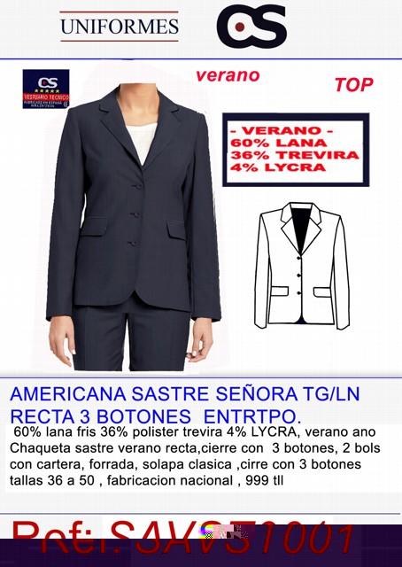 CHAQUETA SRA VRNO TG/LA/L P480