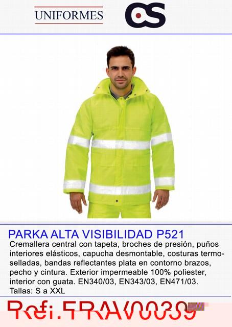 PARKA CLASICA ALTA VISIBILIDAD