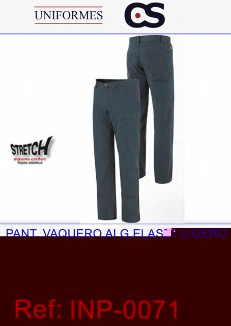 PANT. VAQUERO ALG.ELAST.LIGERO P446