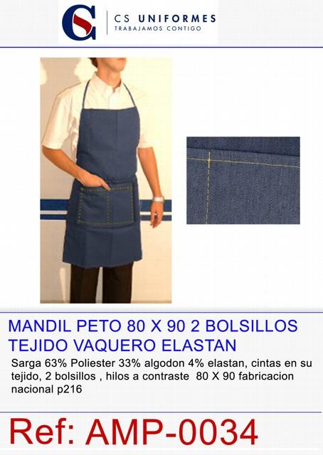 MANDIL PETO 1 BOL TKA COL BBP