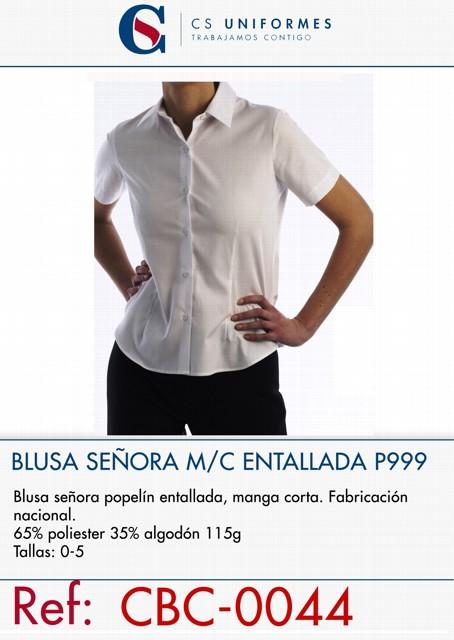 BLUSA ENTALLDA M/C NEW LODEN P999