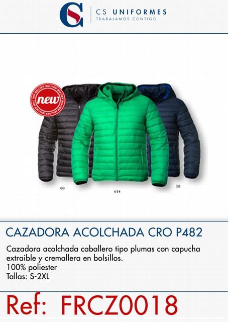 CAZADORA ACOLCHADA TIPO PLUMAS P482