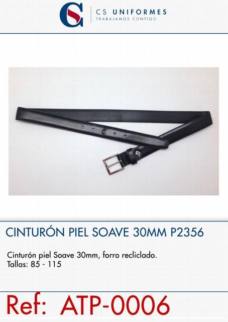 CINTURON PIEL SOAVE 30MM P2356