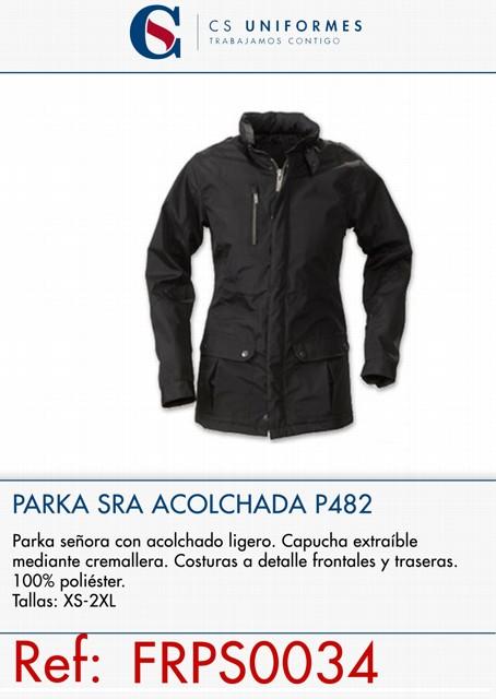 PARKA SRA ACOLCHADA P482