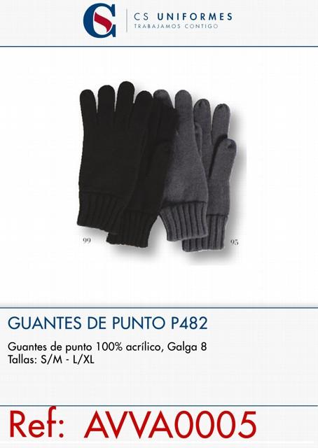 GUANTES DE PUNTO P482